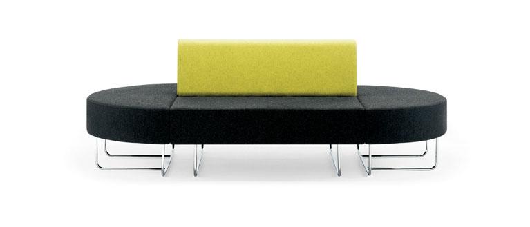 espaces informels boundary canap s dos dos mobilier de bureau entr e principale. Black Bedroom Furniture Sets. Home Design Ideas