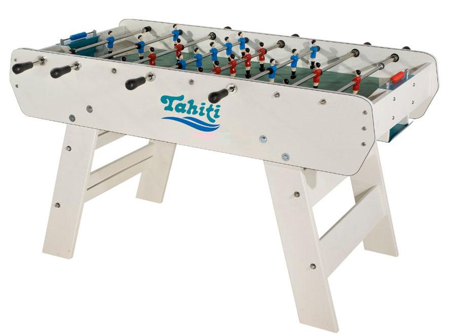 Espaces de loisirs baby foot d exterieur tahiti for Table exterieur transformable
