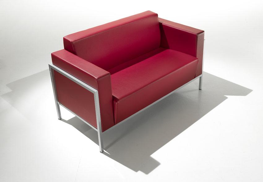 Canap s design canap 2 places kursal mobilier de for Bureau 2 places