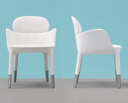 chauffeuses design fauteuil blanc ester mobilier de bureau entr e principale. Black Bedroom Furniture Sets. Home Design Ideas