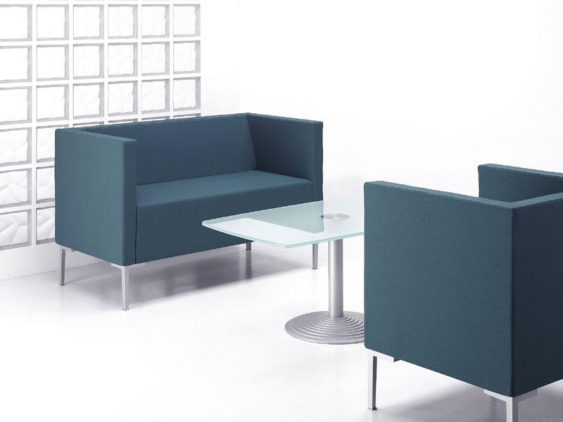 Canap s design canap 2 places cubis mobilier de for Bureau 2 places