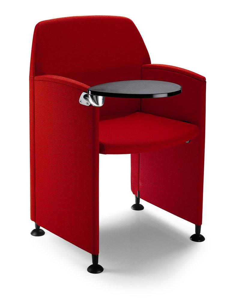mobilier de formation fauteuil pliable avec tablette. Black Bedroom Furniture Sets. Home Design Ideas
