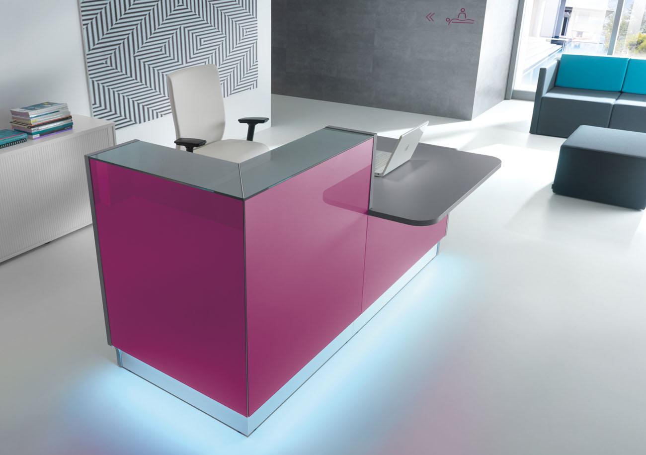 banques d 39 accueil banque d 39 accueil linea noire avec pmr mobilier de bureau entr e principale. Black Bedroom Furniture Sets. Home Design Ideas