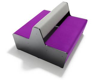 Espaces informels module magnes 4 places mobilier de for Bureau 4 places