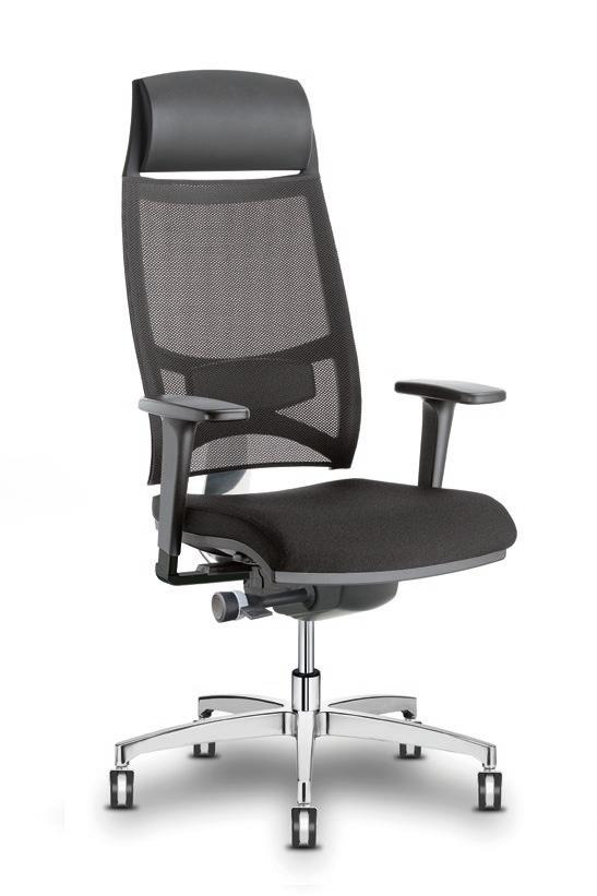 si ges ergonomiques mal de dos fauteuil synchrone dorsalis avec t ti re. Black Bedroom Furniture Sets. Home Design Ideas