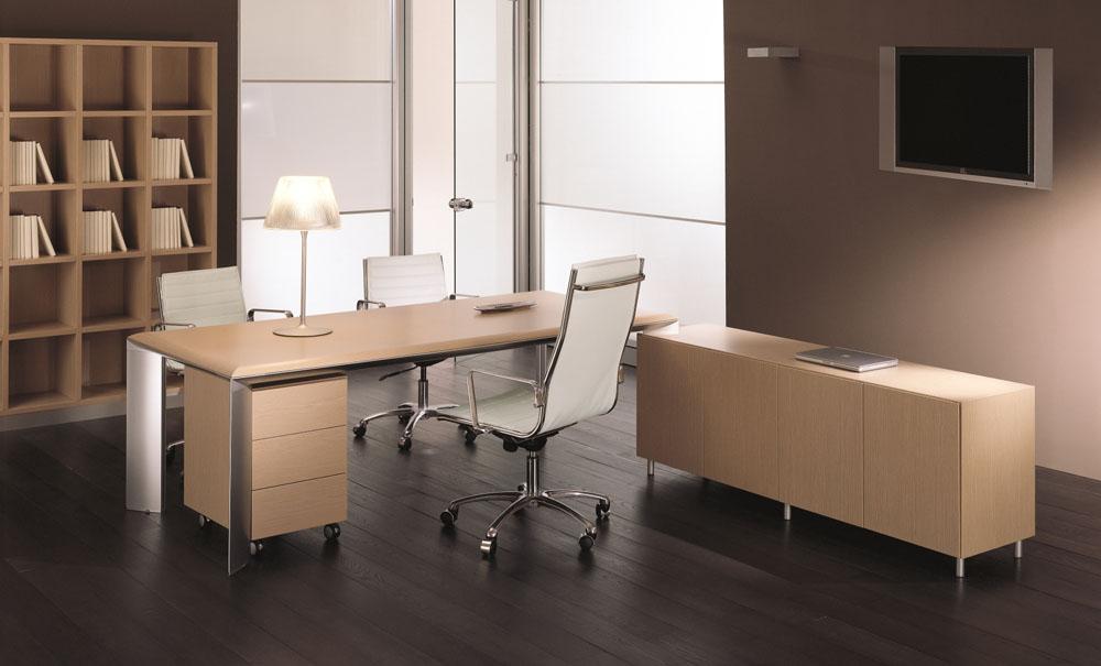 Mobilier direction bureau sur cr dence solo design for Mobilier bureau 94