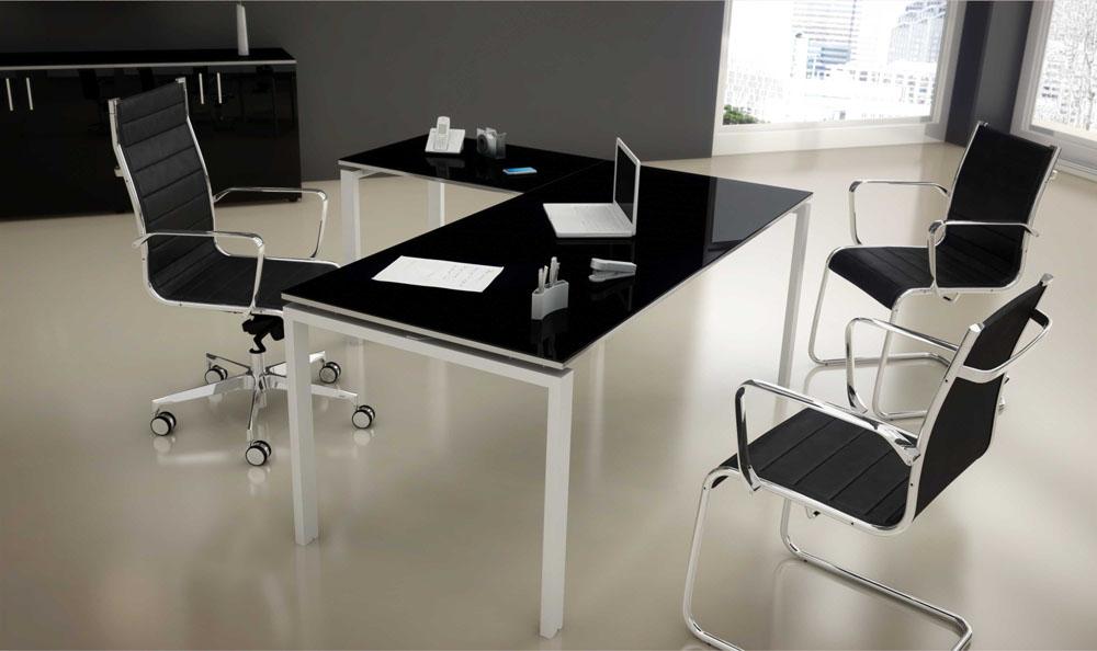 Mobilier direction bureau avec retour dynamic mobilier for Mobilier bureau 63