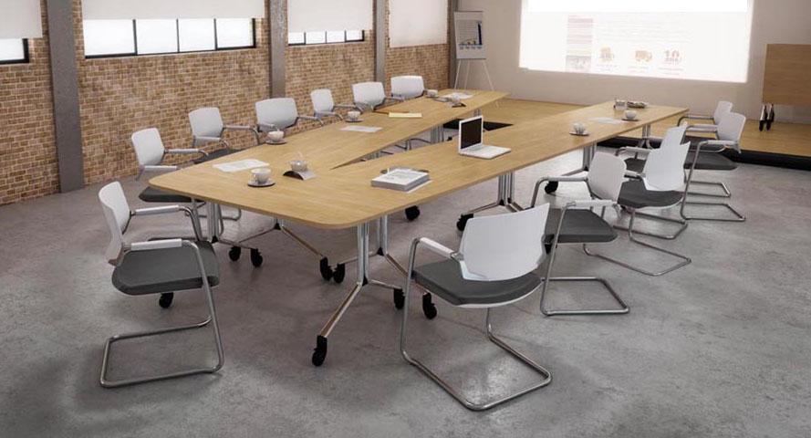 Tables modulables table de r union rabattable fold v for Table de 0 6