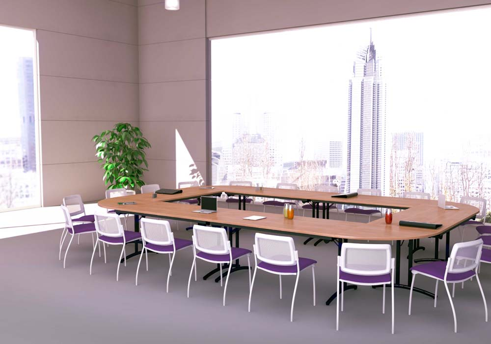 Tables modulables tables pliantes confort 18 personnes - Table 18 personnes ...