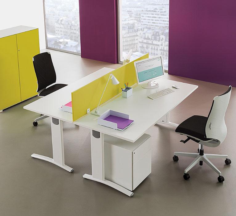 call centers et open space postes face face elise 16. Black Bedroom Furniture Sets. Home Design Ideas