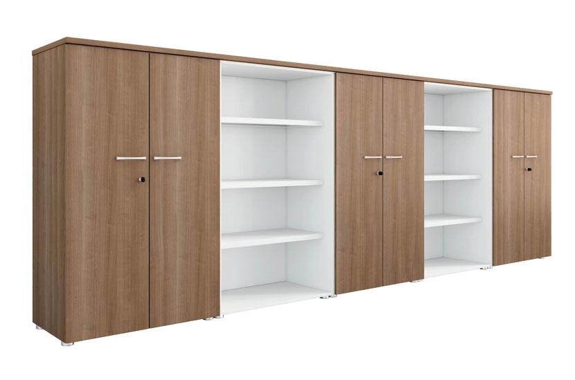 armoires et vestiaires ensemble de rangement semi ouvert mobilier de bureau entr e principale. Black Bedroom Furniture Sets. Home Design Ideas