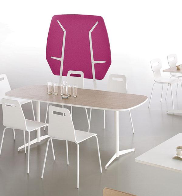 Cloisons et acoustique cloison acoustique tamaris 160 x for Mobilier bureau 56