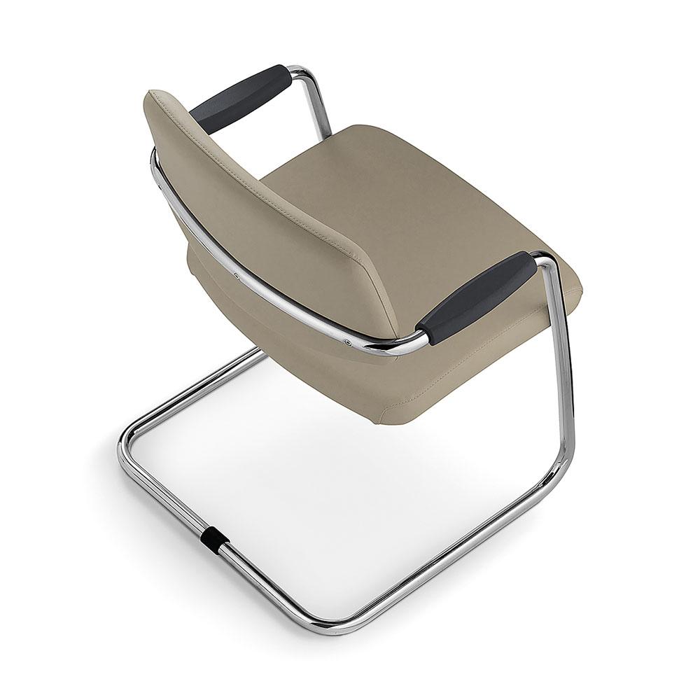 si ges de r union fauteuil de r union link cuir taupe mobilier de bureau entr e principale. Black Bedroom Furniture Sets. Home Design Ideas