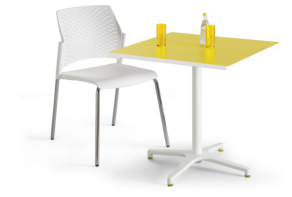 Mobilier de collectivit s table carr e alt is mobilier for Mobilier bureau 56