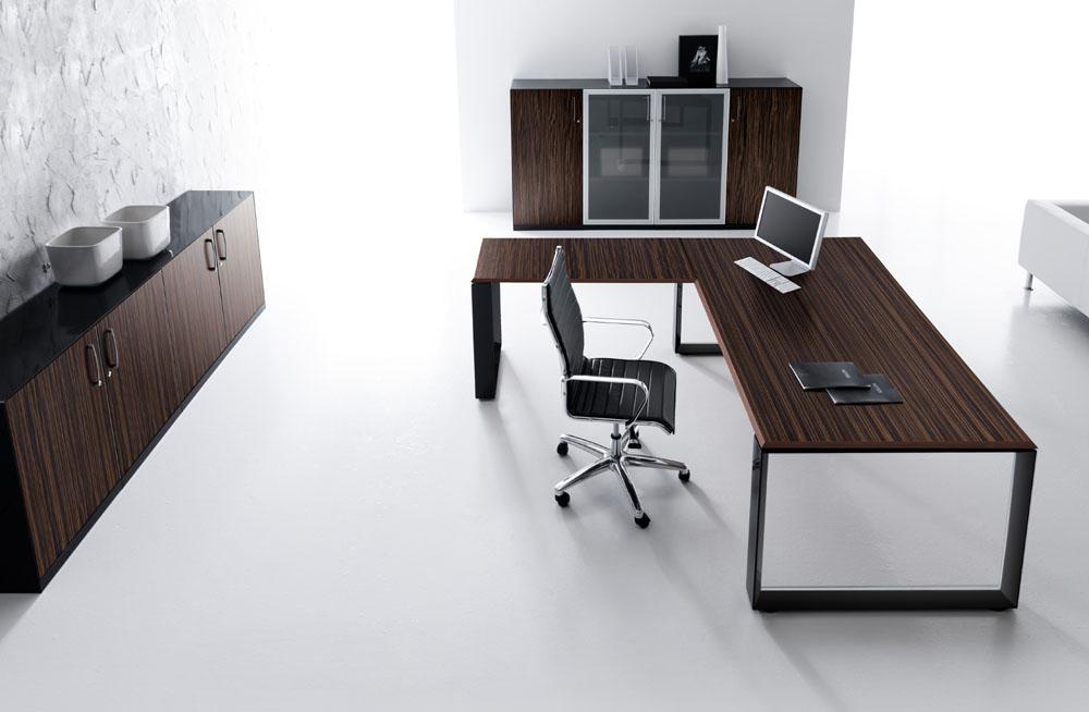 bureaux de direction bureau de direction avec retour agora mobilier de bureau entr e. Black Bedroom Furniture Sets. Home Design Ideas