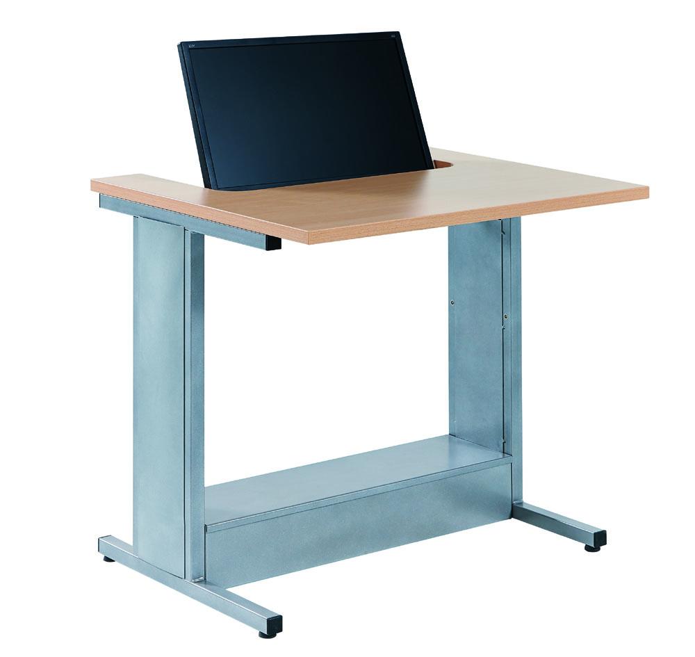 mobilier de formation poste informatique avec ecran semi encastr mobilier de bureau. Black Bedroom Furniture Sets. Home Design Ideas