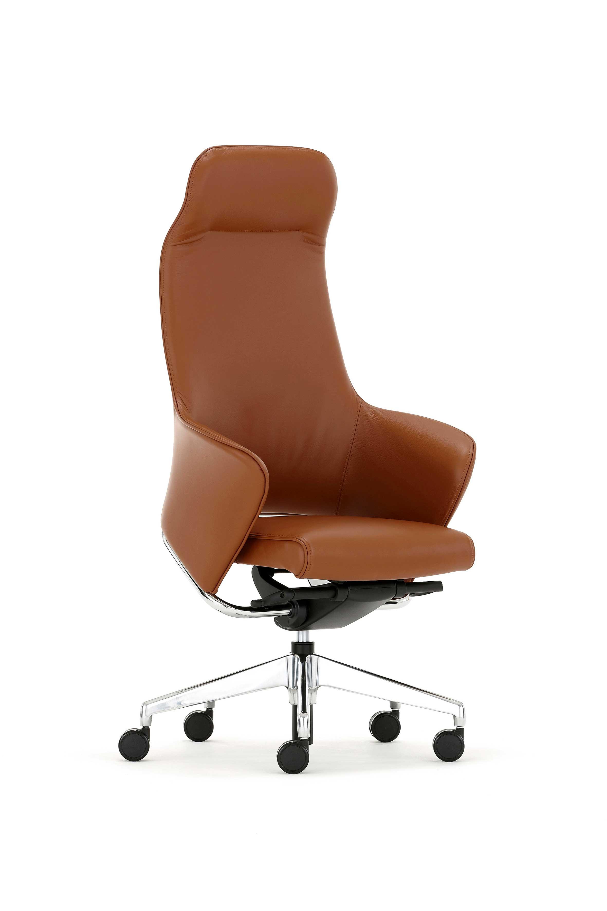 si ges direction fauteuil cuir brooks mobilier de bureau entr e principale. Black Bedroom Furniture Sets. Home Design Ideas