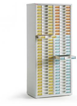 Armoire haute 2 colonnes 60 tiroirs