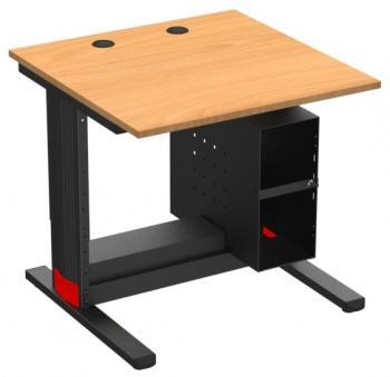 Table support UC avec serrure