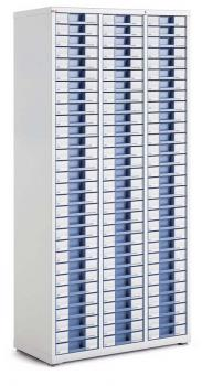 Armoire haute 3 colonnes 90 tiroirs
