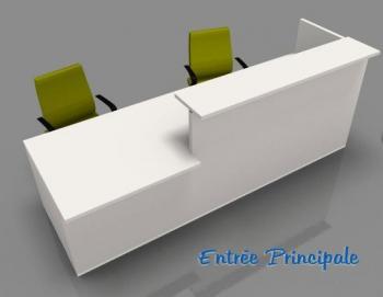 banques d 39 accueil mobilier de bureau entr e principale. Black Bedroom Furniture Sets. Home Design Ideas