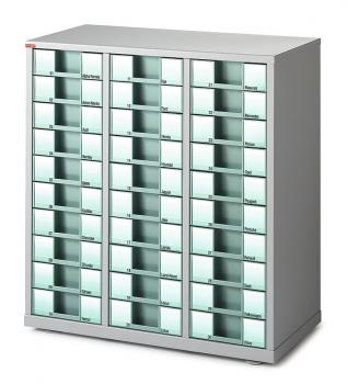 Comptoir 3 colonnes 30 tiroirs