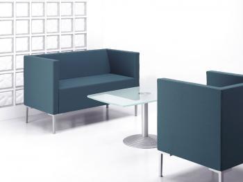 Canap s design canap zen concave ou convexe 3 places for Mobilier bureau zen