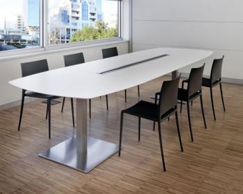 PLANO table de réunion ovale