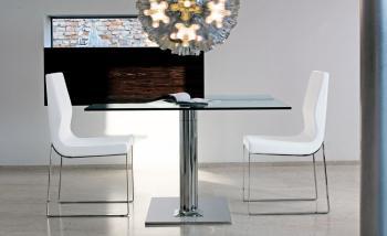 Table carrée extensible Plinto