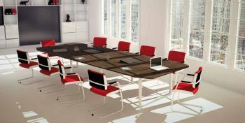 Tables Active 18 places pieds fermés