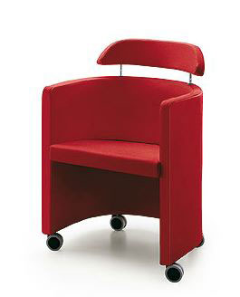 Fauteuil POOL roulettes