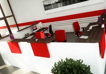 Banque Image rouge