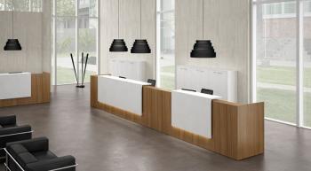 Banques d'accueil Z2 design avec Led