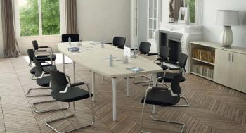 Table Tonneau Direction Pieds Design