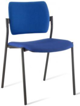 Chaise de réunion Amets tapissée