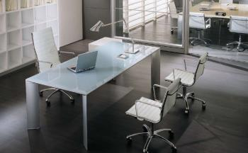 Bureau Direction Verre Solo Design