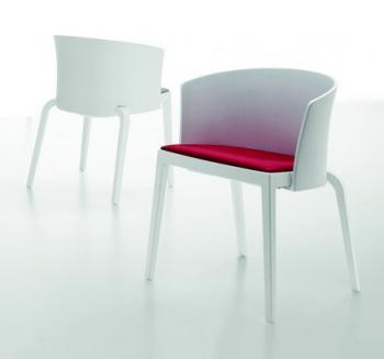 Fauteuil Bi Full-Back assise tapissée
