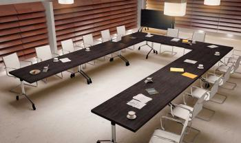 Ensemble de 7 tables basculantes Direction