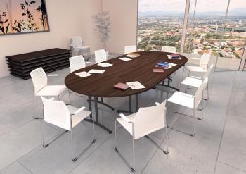 Tables Pliantes de Réunion Confort 8 Personnes