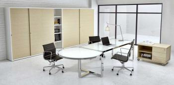 Bureau Design en Verre Anti-tâches