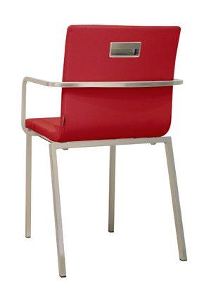 si ges de r union fauteuil kuadra xl chrom e mobilier de bureau entr e principale. Black Bedroom Furniture Sets. Home Design Ideas