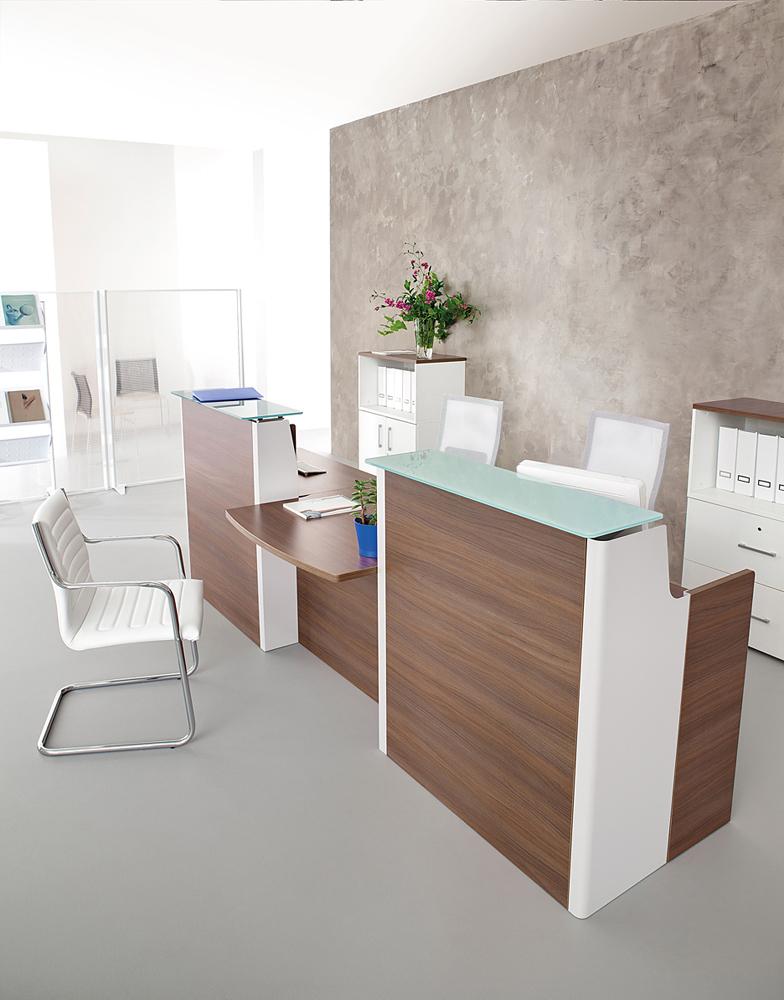 banques d 39 accueil banque d 39 accueil adelis avec pmr et dessus verre mobilier de bureau. Black Bedroom Furniture Sets. Home Design Ideas