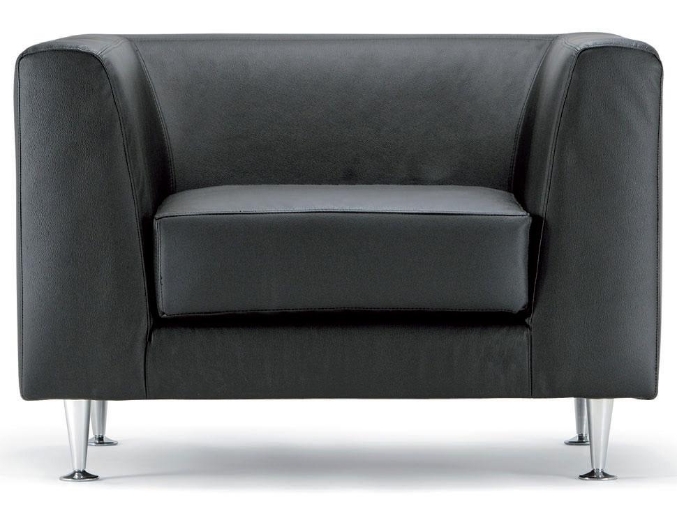 canap s design fauteuil cube en cuir noir mobilier de bureau entr e principale. Black Bedroom Furniture Sets. Home Design Ideas