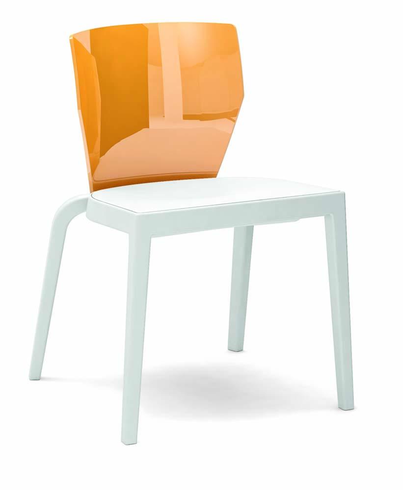 mobilier de collectivit s chaise bicolore bi series pp. Black Bedroom Furniture Sets. Home Design Ideas