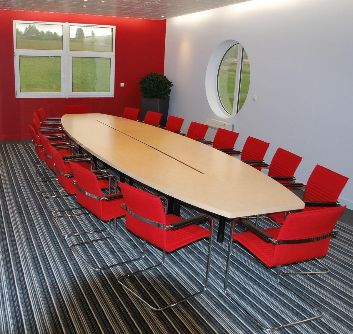 Tables De Conférence Table De Réunion Ovale Icone
