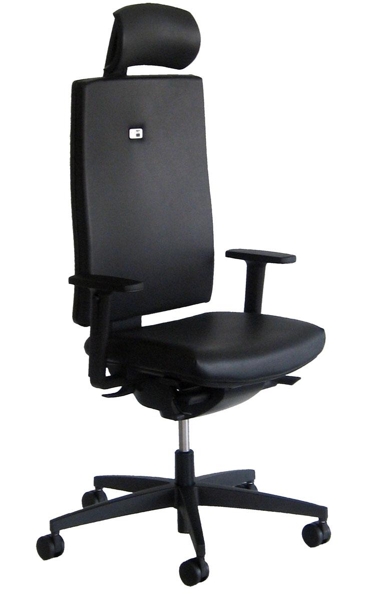 si ges ergonomiques mal de dos fauteuil ergonomique linea cuir avec t ti re mobilier de. Black Bedroom Furniture Sets. Home Design Ideas