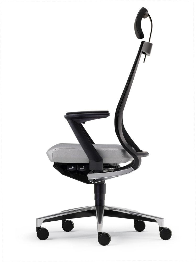 si ges ergonomiques mal de dos fauteuil duera r sille avec t ti re mobilier de bureau. Black Bedroom Furniture Sets. Home Design Ideas