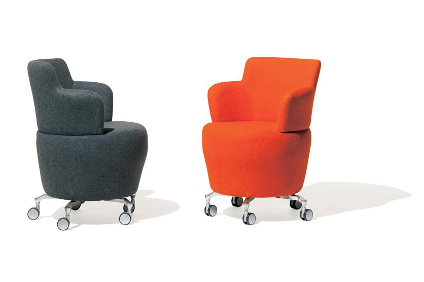 chauffeuses design fauteuil tarn sur roulettes mobilier de bureau entr e principale. Black Bedroom Furniture Sets. Home Design Ideas