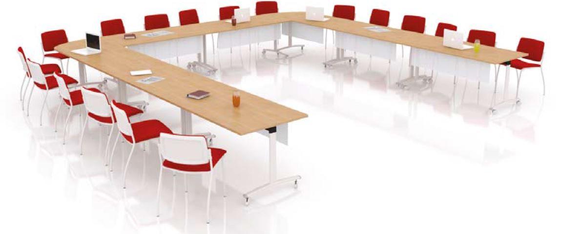 tables modulables tables rabattables fold 18 personnes mobilier de bureau entr e principale. Black Bedroom Furniture Sets. Home Design Ideas