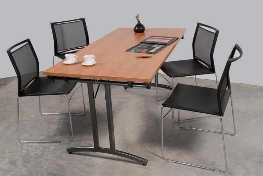 tables modulables table pliante tpe 140 mobilier de. Black Bedroom Furniture Sets. Home Design Ideas